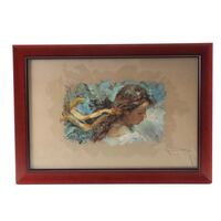 Jose Royo Signed Limited Edition Serigraph  Rockville, 20850