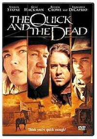 The Quick and the Dead Dvd - Sharon Stone, Russel Crowe, Gene Hackman Bethesda, MD, USA
