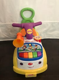Fisher price little people parade ride-on