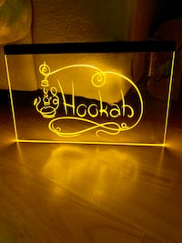 HOOKAH BAR LED NEON LIGHT SIGN 8x12 La Mirada, 90638
