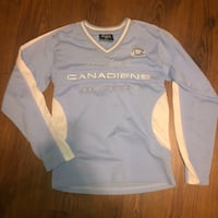 Montreal Canadians women's size small blue jersey- 100th season special edition  Laval, H7L 5V2