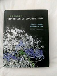 Principles of Biochemistry fifth edition by David L. Nelson and Michael M. Cox textbook Coquitlam, V3E 2Y5