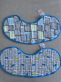 Aden and Anais burpy bibs for baby or toddler (pack of 2)