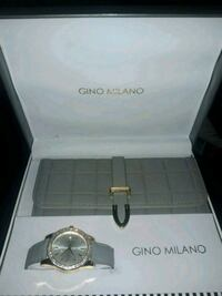 Womens Gino Grey Milano Wallet and Watch Set Akron, 44310