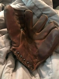 Baseball glove from the 40s