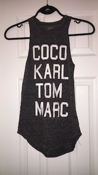black and white tank top Halifax, B3M 3N7