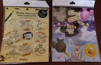2 sets of collector Mickey Mouse Pin Sets Hesperia, 92345