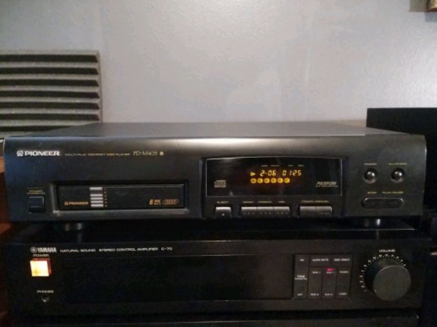 Photo PIONEER PD-M403 6-Disc CD Changer