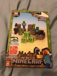 NEW Minecraft paper craft puzzle