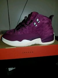 unpaired purple and white Air Jordan 9 shoe with box Easley, 29642