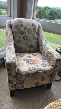 Brown, gray, and black floral sofa chair Baraboo, 53913