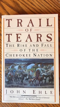 Trail of Tears by John Ehle book Madison, 53704