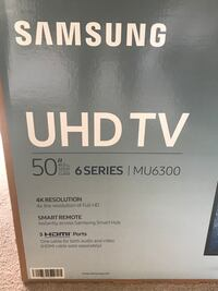 "TV - Samsung UHD TV 50"" MU6300 Vienna, 22180"