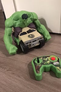 Marvel Avengers Assemble Hulk Smash R/C car New Westminster, V3M 0K4