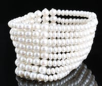 8 strand fresh water pearl bracelet (total 320 pearls) Oslo