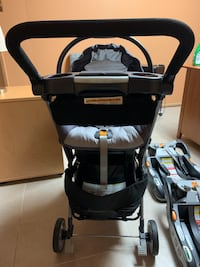 Chicco keyfit infant car seat and caddy set