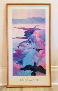 "Large framed print ""Flying With Ravens"" by Carey Moore Toronto, M4V 1Y9"