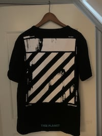 Off white svart t shirt Langhus, 1405