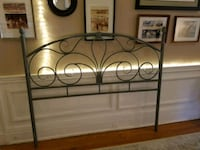 black metal bed headboard and footboard Baltimore, 21205