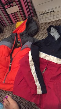 18-24 month boys jackets. Children's place fall jacket like new, pacific trail winter jacket worn a few times. Only $8 total!!! Vaughan, L4J 5L7