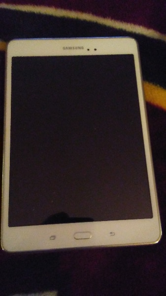 Used, white Samsung Galaxy Tab tablet for sale  Surrey