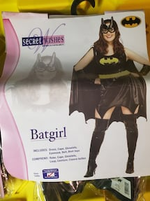 BAT WOMEN HALLOWEEN COSTUME