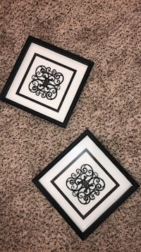 two black wooden photo frames Capitol Heights, 20743