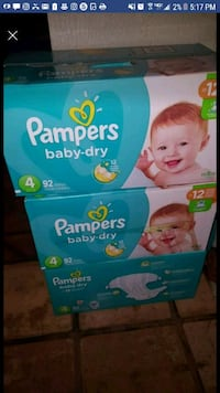 Pampers size 4 Phoenix, 85035