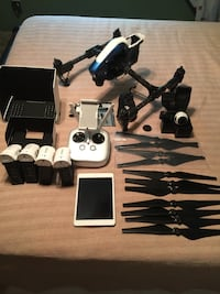DJI Inspire 1 V2, w-tons of extras, pelican case BOWIE