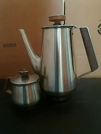 Vintage coffee decanter and creamer Columbia, 21045