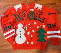 LADY'S CHRISTMAS SWEATER