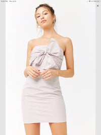 Super cute tube top brass with bow brand new in plastic Calgary, T3G 4E1