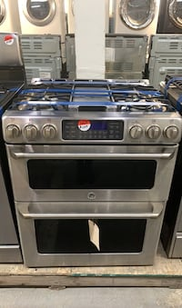 GE doble oven Gas stove