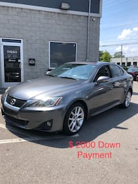 Lexus - IS - 2012 only $ 2000 Down Payment Nashville