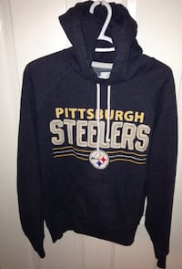 Pittsburgh Steelers Campus Crew Hoodie Size Small