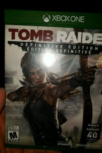 Used Tomb Raider Definitive Edition Xbox One For Sale In Palmerston