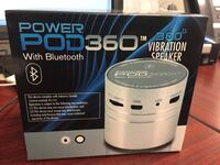 power pod 360 with bluetooth vibration speaker box Calgary, T2C