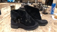 Pair of black boots ~ never worn  Sudbury, P3E 0A4