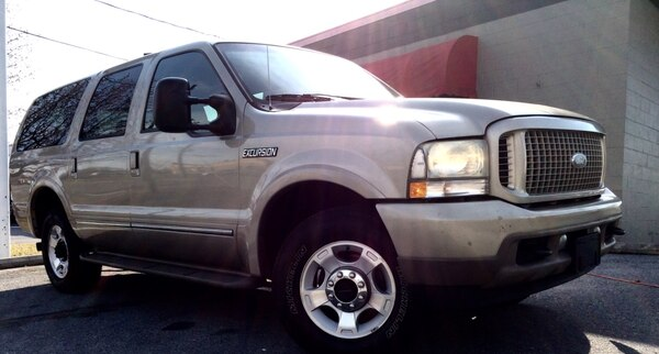 Ford Excursion Limited Diesel 4x4 Suv Truck W 3rd Row