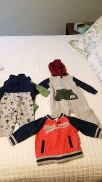 6 month baby boy clothes and pjs Summerville, 29485