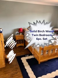 Solid BIRCH Twin Bedroom Set Oakville, L6H 5Z8