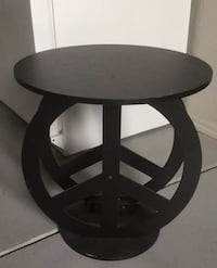 Peace end table