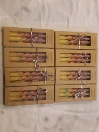 Hand Twisted Candles - 8 packs for 20$ Milton, L9T 3P2