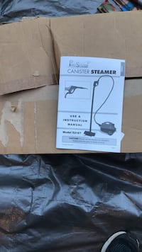 Never Used Canister Steamer - Open Box Lutherville Timonium, 21093