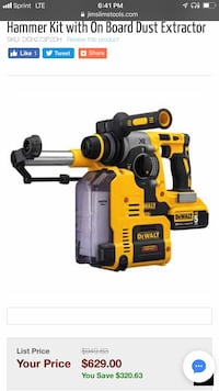 yellow and black DEWALT power tool 226 mi