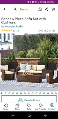 4 piece outdoor seating Hanover, 21076