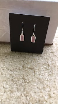 Silver and pink earrings Doylestown, 18902
