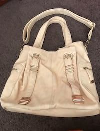 gorgeous Charming Charlie perfect condition purse/hand bag beige