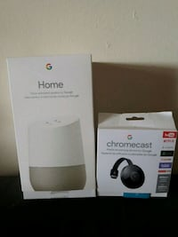 white Google Home and chromecast London, N6H 1T3
