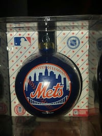 MLB New York Mets Christmas baubles